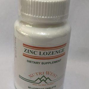 Zinc Lozenges 60